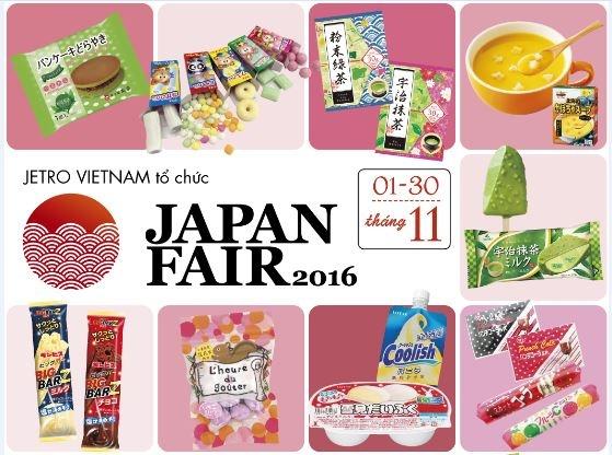 Hoi cho am thuc 'Japan Fair 2016' dien ra trong thang 11 hinh anh