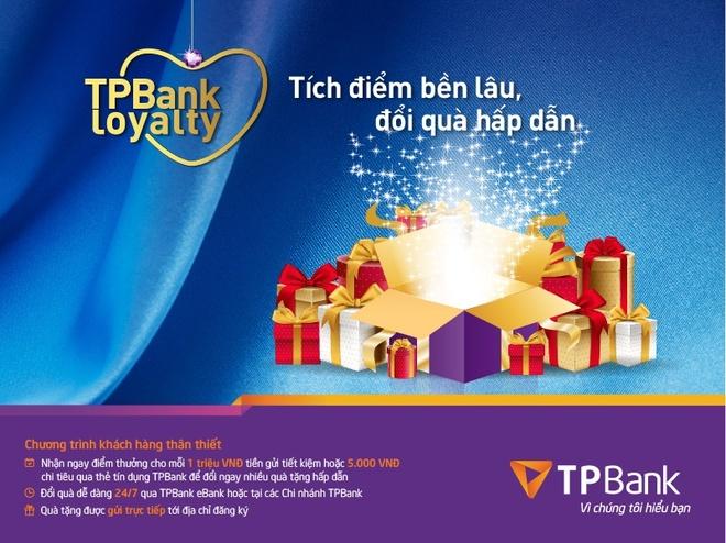 TPBank trien khai chuong trinh tich diem doi qua hinh anh 1