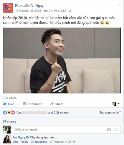 An Nguy, Pho Dac Biet bat dong quan diem trong vlog moi hinh anh 1