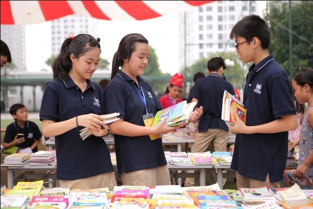 Vinschool,  Hoi sach Vinschool Book Fair anh 9