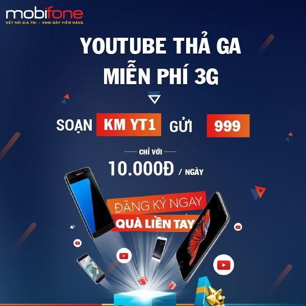 MobiFone uu dai lon cho khach hang su dung Youtube Data hinh anh 1