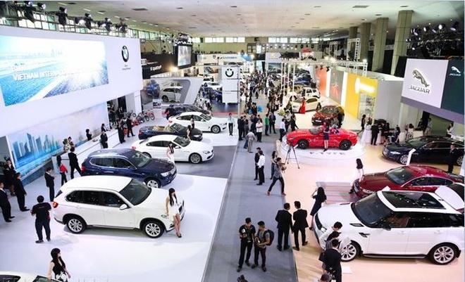 Mobil 1 tham gia trien lam 'Vietnam Motor Show 2016' hinh anh 1
