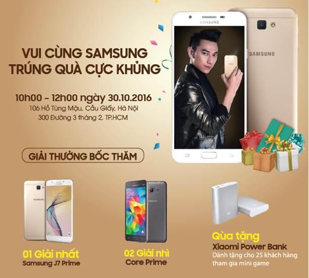 Co hoi nhan Samsung J7 Prime mien phi tai TechOne hinh anh 1