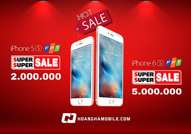 Hoang Ha Mobile,  iphone,  khuyen mai anh 1