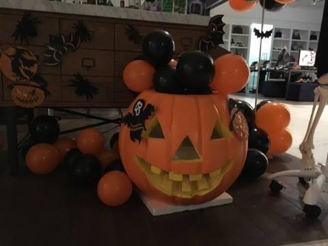 Hoat dong hap dan tai Lotte Department Store dip Halloween hinh anh 8
