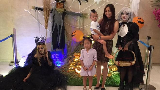 Hoat dong hap dan tai Lotte Department Store dip Halloween hinh anh 5