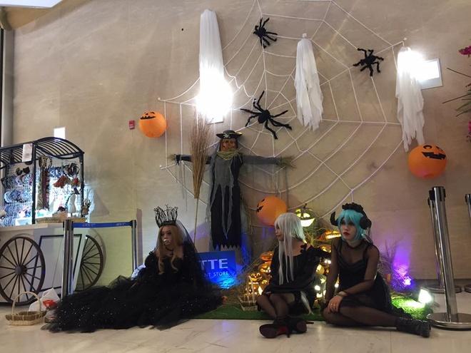 Hoat dong hap dan tai Lotte Department Store dip Halloween hinh anh 9