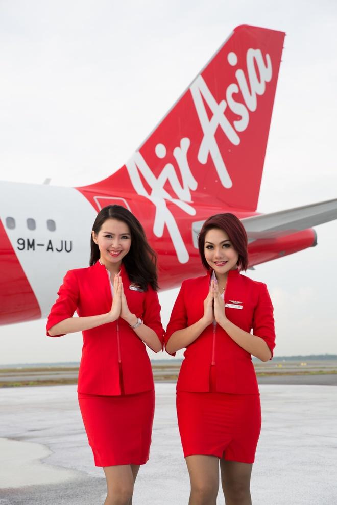 AirAsia tang tan suat bay 2 chuyen/ngay tu Ha Noi di Bangkok hinh anh 1