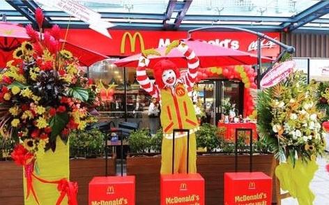 Thuong hieu McDonald's co mat tai san bay Tan Son Nhat hinh anh