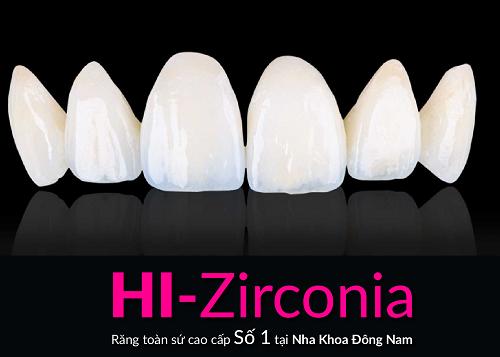 Nha khoa Dong Nam,  rang su Hi-Zirconia anh 1