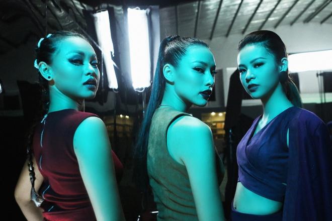 Lily Nguyen so hai khi du minh tren day quay phim ngan hinh anh 5