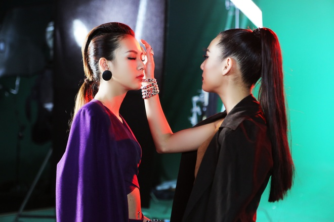 Hau The Face, Phi Phuong Anh than thiet voi Lilly Nguyen hinh anh 2