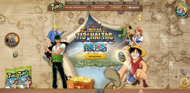 Truy na hon 113 hai tac One Piece cung banh Toonies hinh anh 4