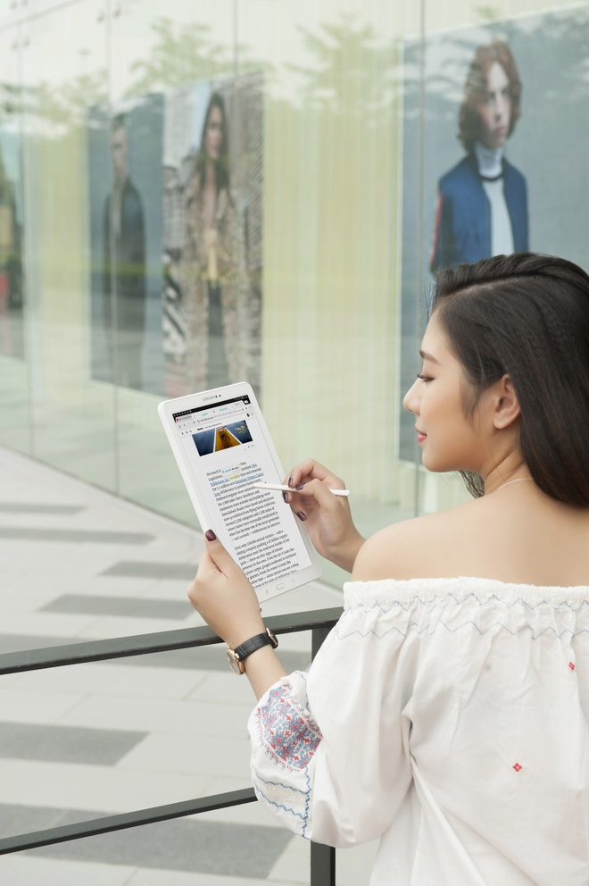 Trai nghiem but S Pen cua Galaxy Tab A 2016 hinh anh 2