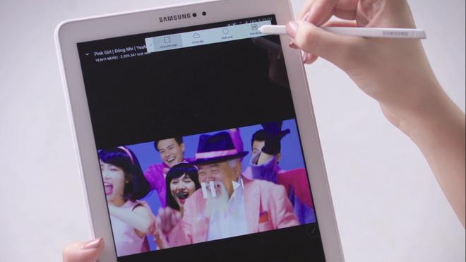 Trai nghiem but S Pen cua Galaxy Tab A 2016 hinh anh 5