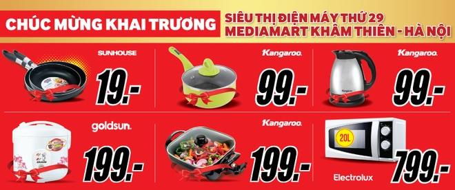 MediaMart khai truong sieu thi dien may thu 29 tai Ha Noi hinh anh 2