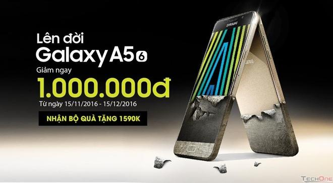 Uu dai lon dong dien thoai Samsung Galaxy dip cuoi nam hinh anh 2