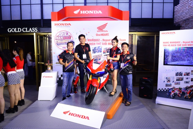 Honda Viet Nam to chuc mung chien thang cua Marc Marquez 93 hinh anh 5