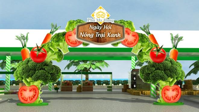 Phu My Hung to chuc 'Ngay hoi Nong trai xanh 2016' hinh anh