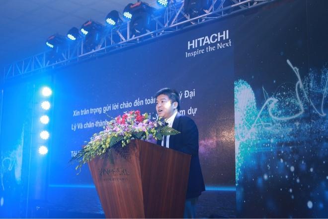 Hitachi ra mat dong may giat Dynamic-Stream Wash moi hinh anh 2