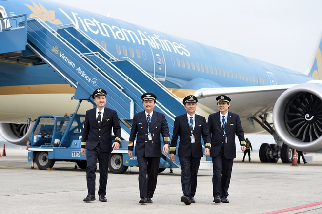 Vietnam Airlines nhan chiec Boeing 787 Dreamliner thu 10 hinh anh
