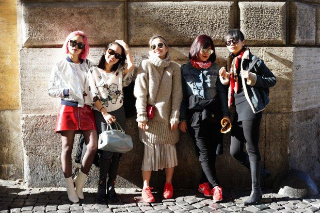 Ngau hung o Roma cua fashionista Viet hinh anh 2