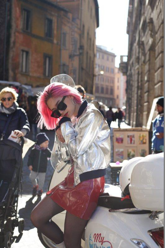 Ngau hung o Roma cua fashionista Viet hinh anh 3