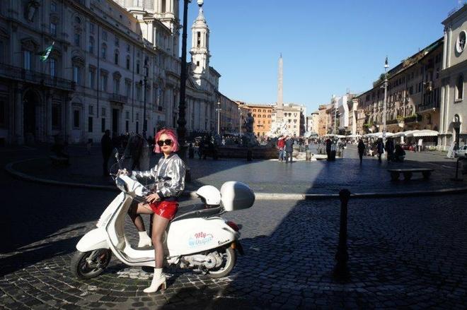 Ngau hung o Roma cua fashionista Viet hinh anh 4