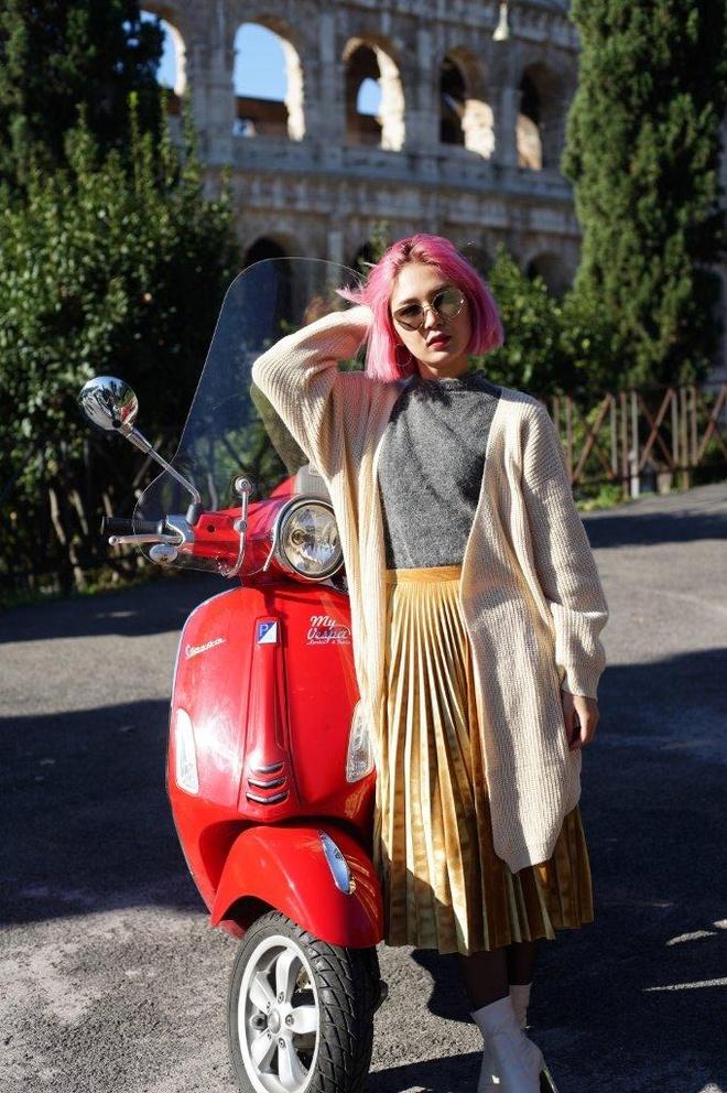 Ngau hung o Roma cua fashionista Viet hinh anh 5