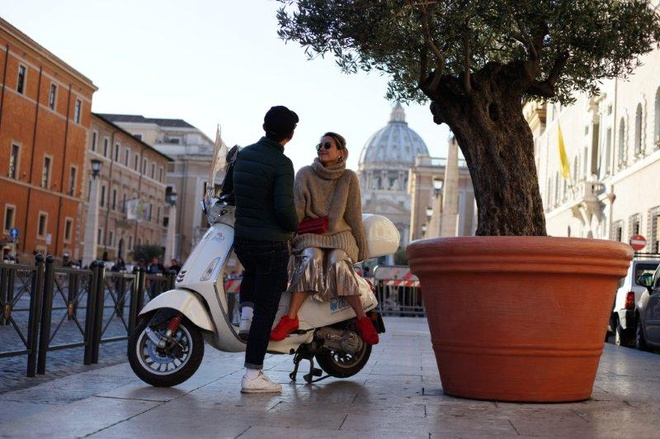 Ngau hung o Roma cua fashionista Viet hinh anh 7