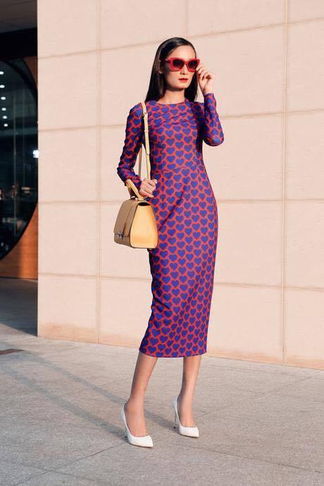 Loat fashionista Viet chuong sac hong trong street style hinh anh 4