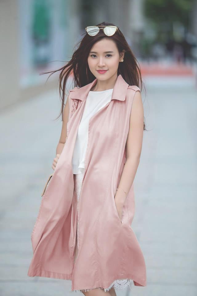 Loat fashionista Viet chuong sac hong trong street style hinh anh 5