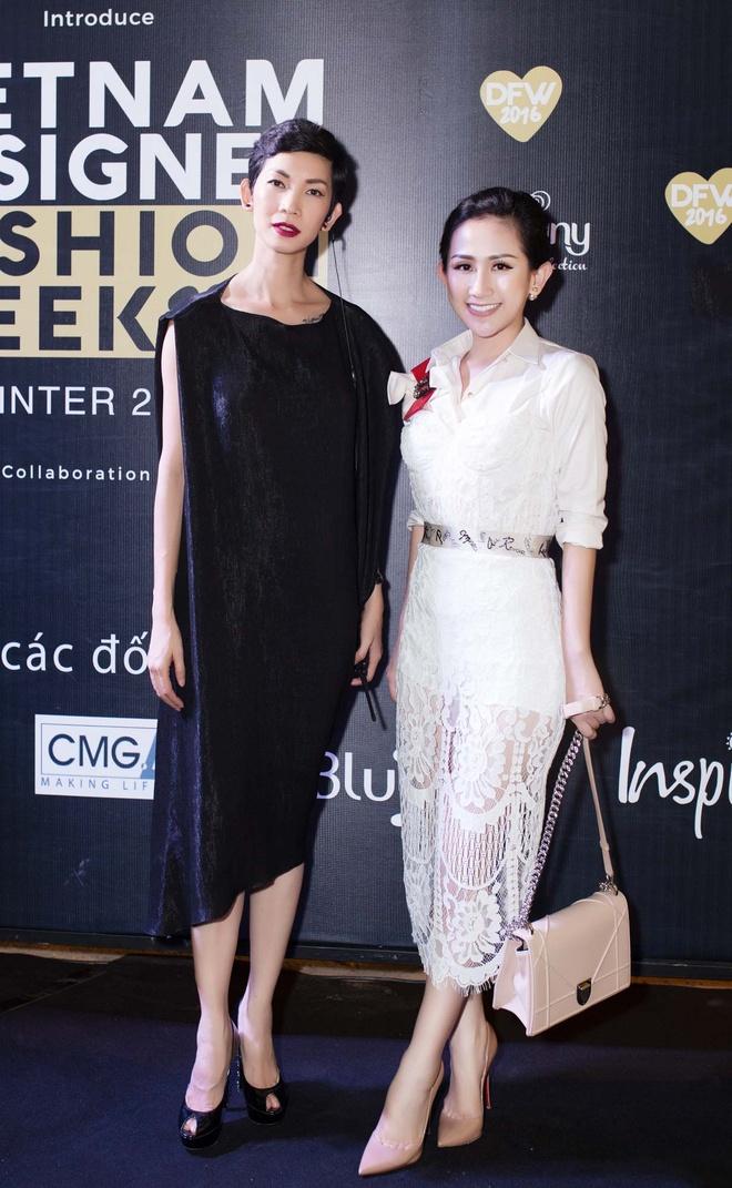 Tram Nguyen noi bat tai Vietnam Designer Fashion Week 2016 hinh anh 3