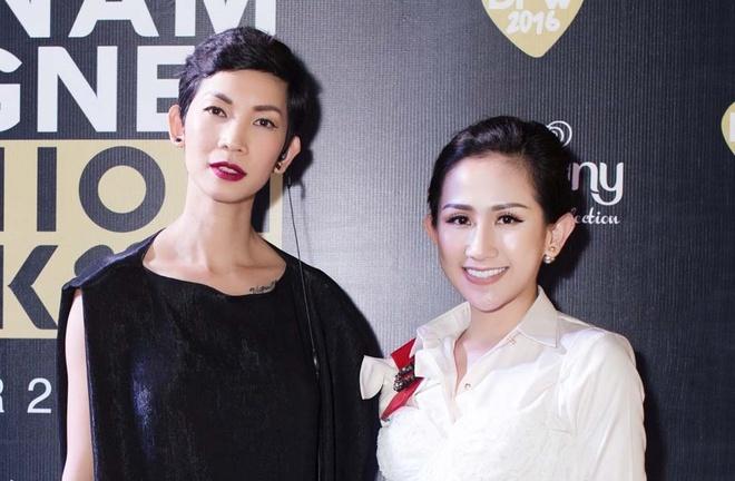 Tram Nguyen noi bat tai Vietnam Designer Fashion Week 2016 hinh anh