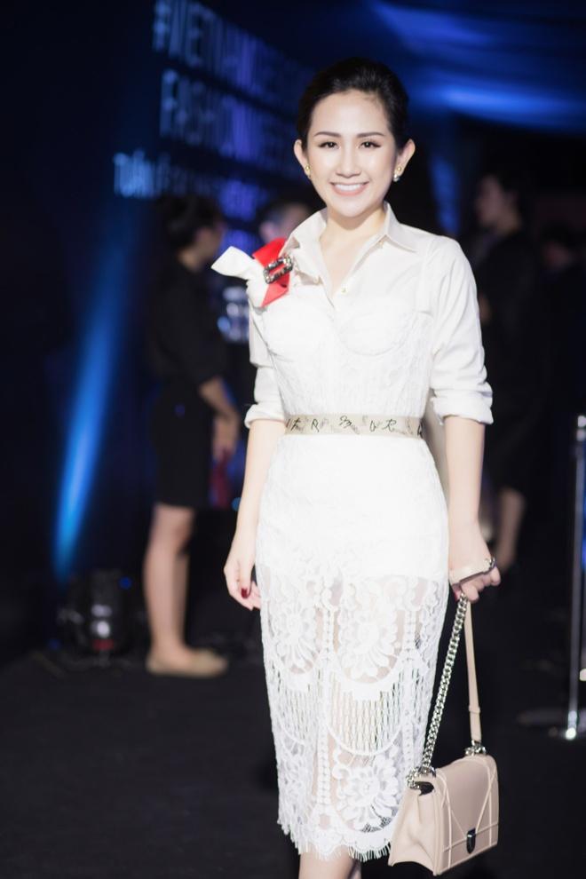 Tram Nguyen noi bat tai Vietnam Designer Fashion Week 2016 hinh anh 2