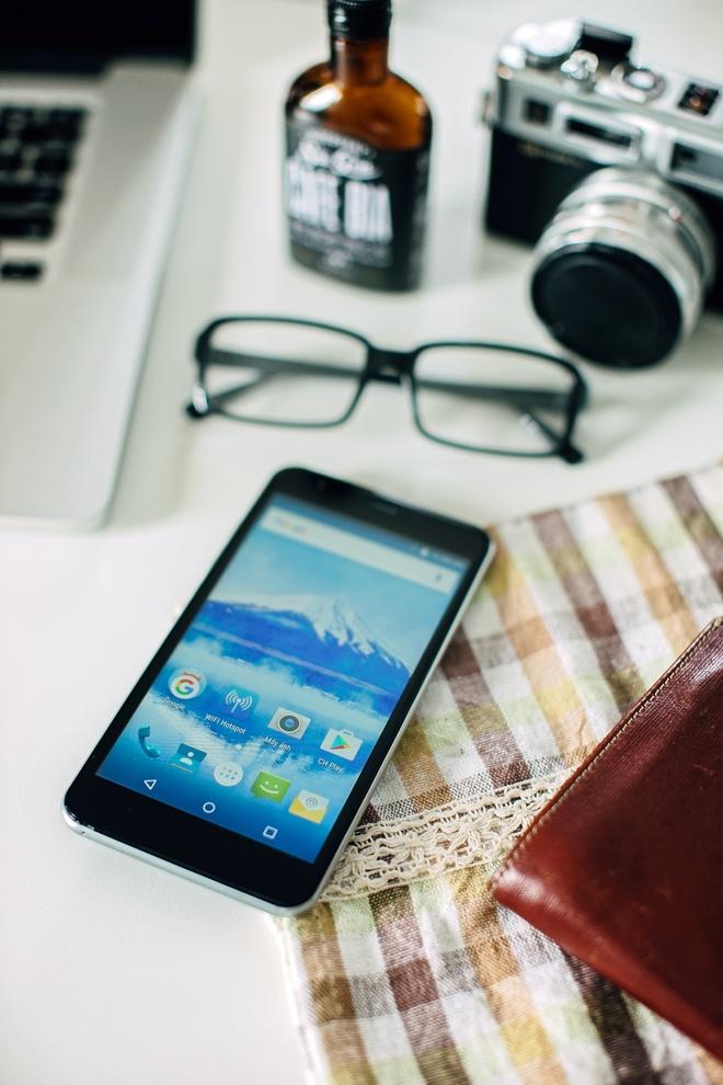 Priori 3S: Smartphone Nhat Ban pin 4.000 mAh, ket noi 4G hinh anh 3