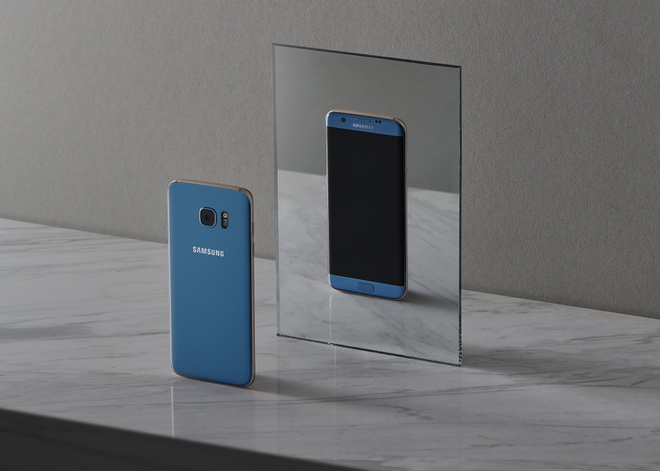 Galaxy S7 edge xanh coral anh 5