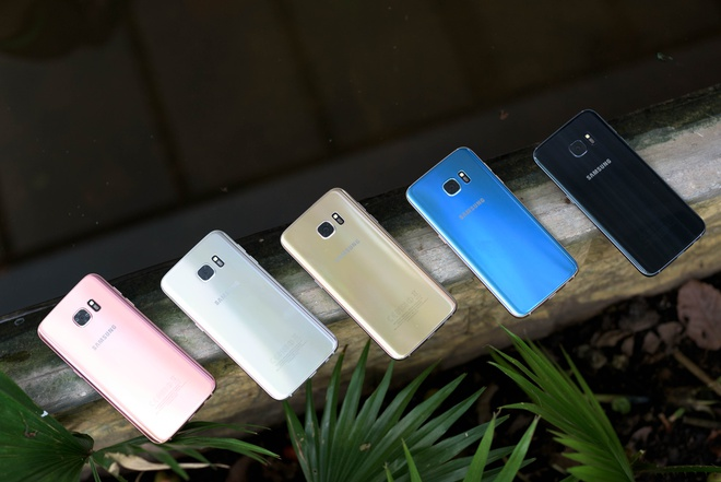 Galaxy S7 edge xanh coral anh 7