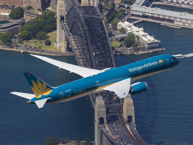 Hanh khach Vietnam Airlines bay Australia bang Boeing 787 hinh anh