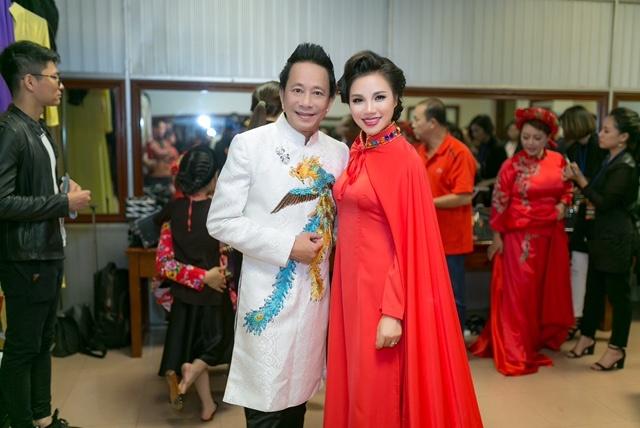 Lam Phi Quynh dau tu lon cho tiet muc mo man Tet Van Loc hinh anh 5