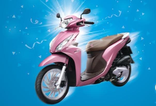 15 khach hang VinaPhone bat ngo nhan Honda Vision 2016 hinh anh