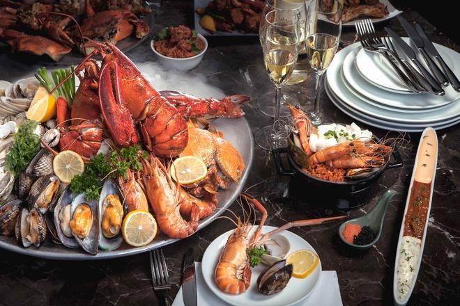 Nha hang Saigon Cafe tro laivoixu huong buffet moi hinh anh
