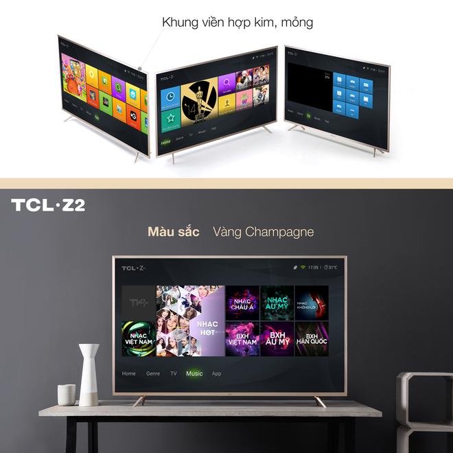 Tap doan TCL hop tac voi Zing TV ra mat TCL Z2 hinh anh 2