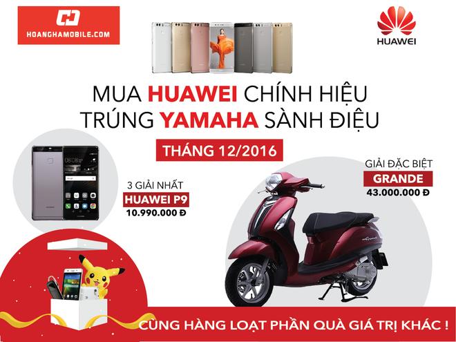 Co hoi trung bo qua 100 trieu dong khi mua smartphone Huawei hinh anh 1