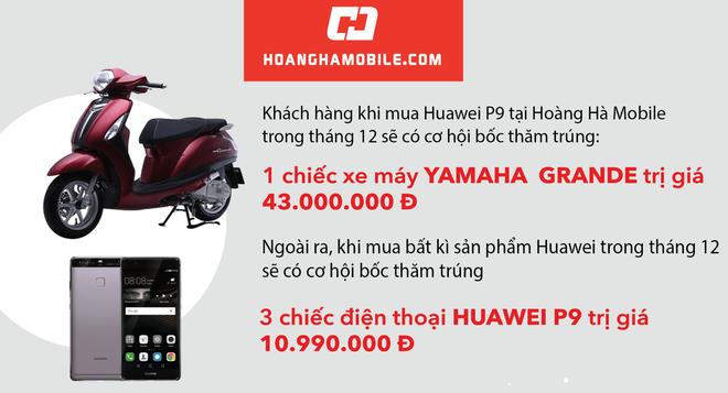 Co hoi trung bo qua 100 trieu dong khi mua smartphone Huawei hinh anh 2