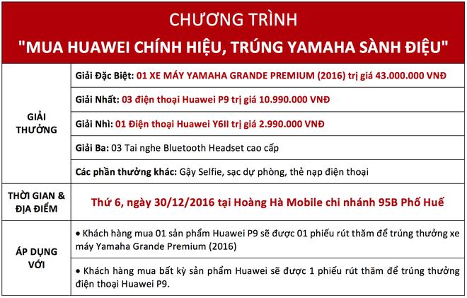 Co hoi trung bo qua 100 trieu dong khi mua smartphone Huawei hinh anh 3