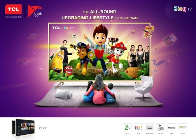 Tap doan TCL hop tac voi Zing TV ra mat TCL Z2 hinh anh 1