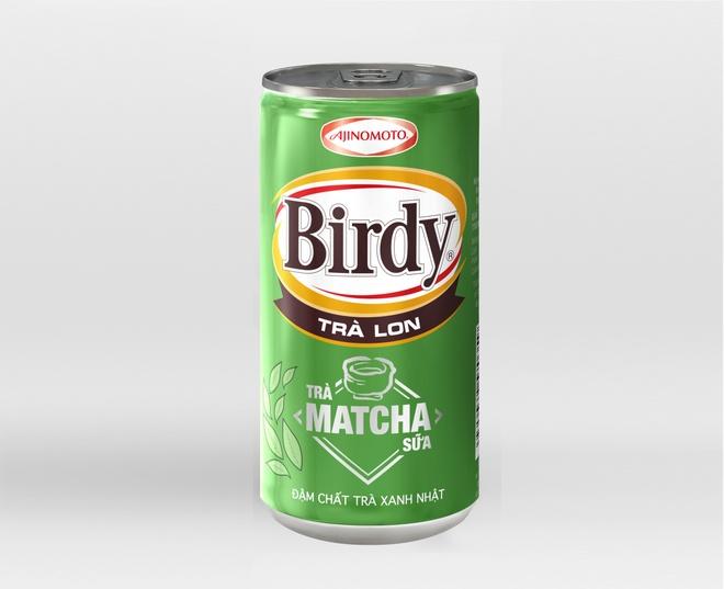 Tra Matcha sua Birdy lon dam vi tra xanh Nhat Ban hinh anh 2