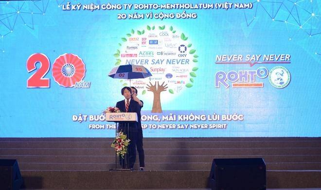 Rohto-Mentholatum Viet Nam ky niem 20 nam thanh lap hinh anh 2