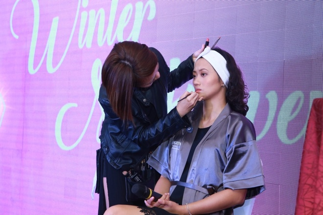 Beauty blogger Ha thanh hoi ngo trong 'Winter Makeover' hinh anh 3